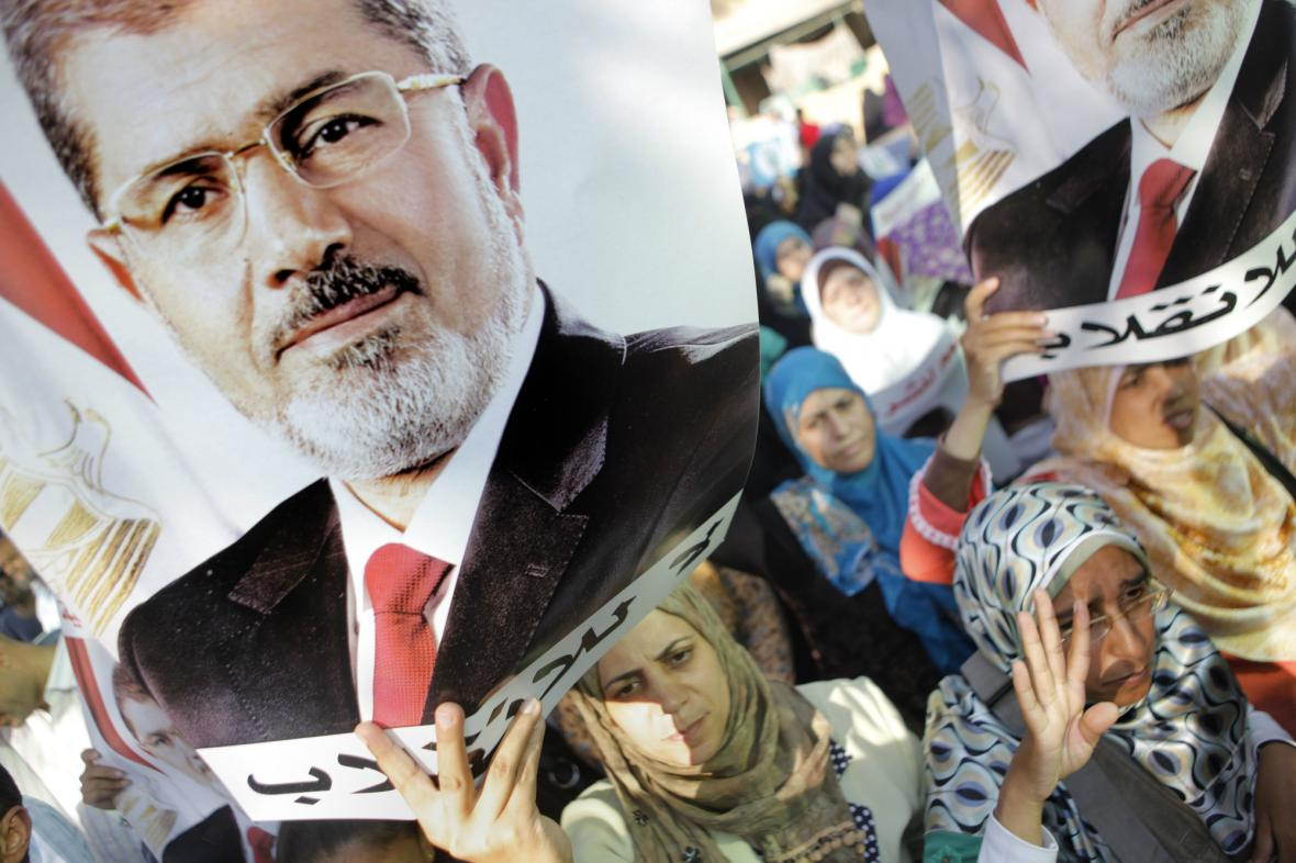 Přívrženci exprezidenta Mursího