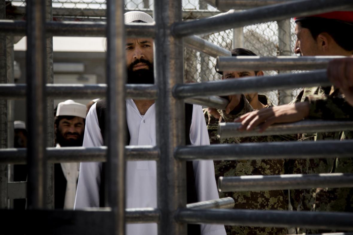 Afghánská věznice v Bagrámu