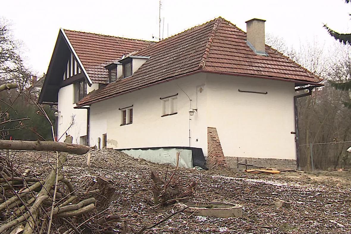 Zahradní domek u Löw-Beerovy vily