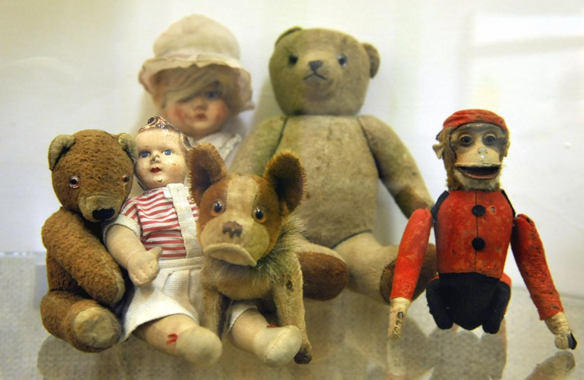 Výstava historických hraček v Třinci