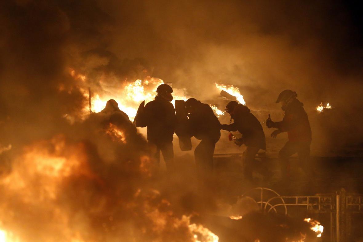 Nepokoje na Ukrajině