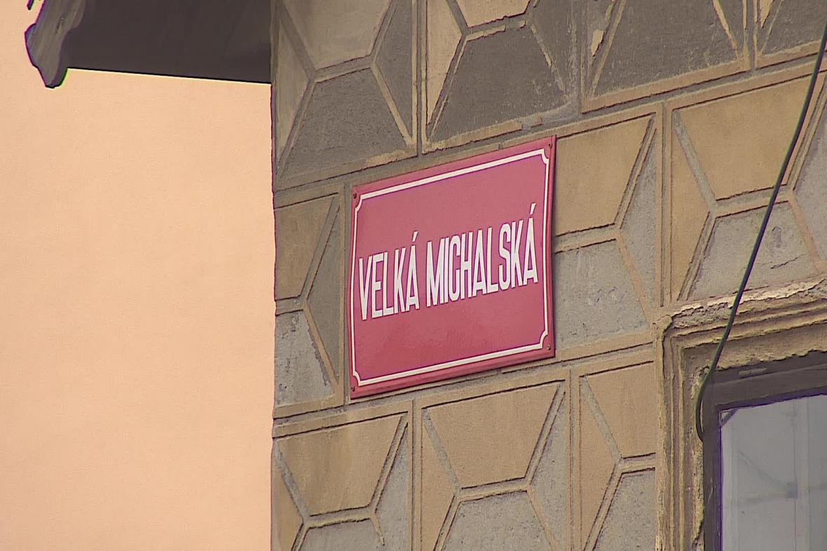 Opravy se dočká i Velká Michalská ulice
