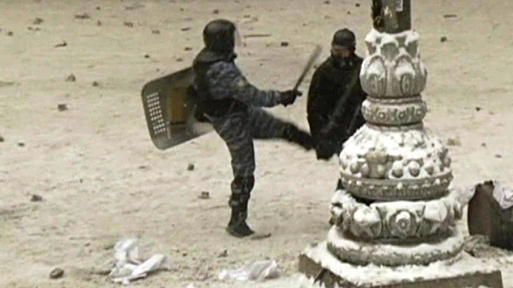 Násilnosti na Ukrajině