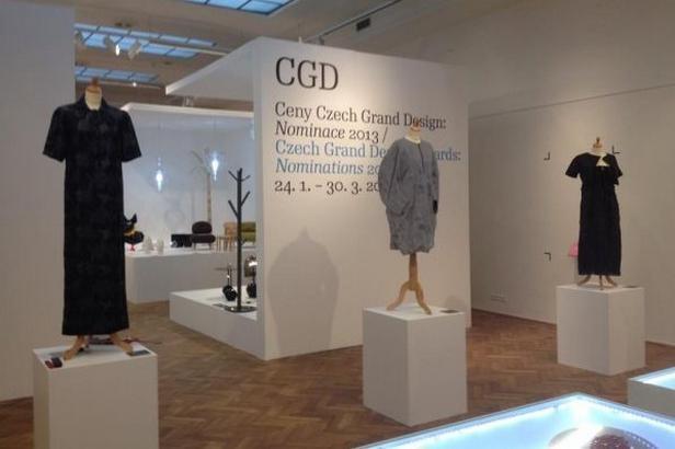 Výstava nominací Czech Grand Design 2013