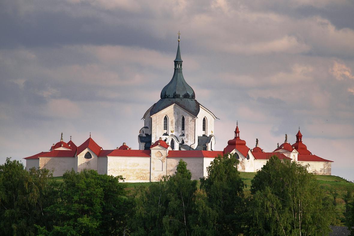 Kostel na Zelené hoře ve Žďáru nad Sázavou