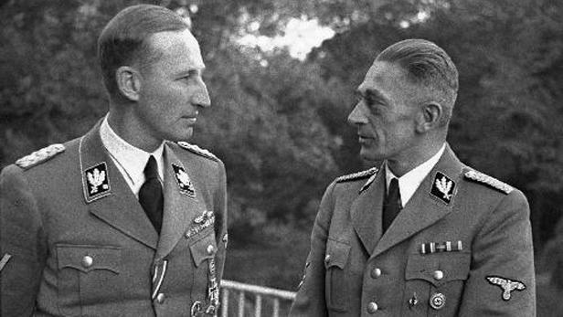 Karl Hermann Frank  s Reinhardem Heydrichem