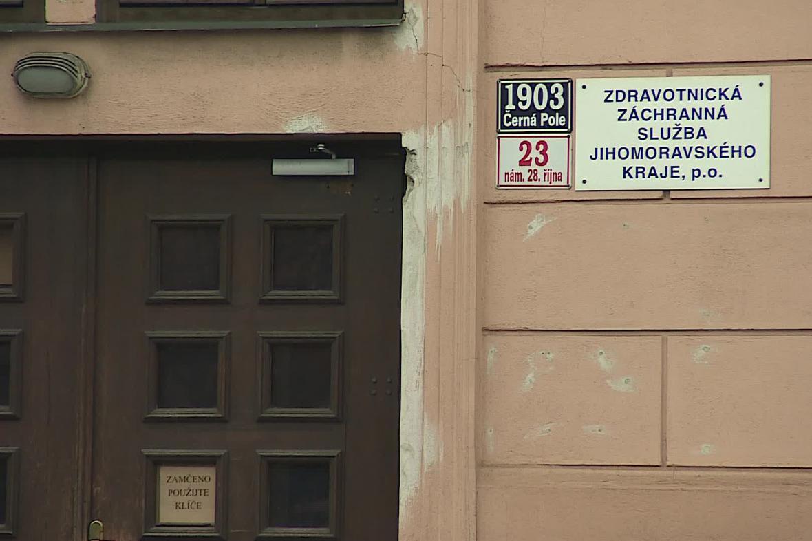 Původní zázemí brněnských záchranářů