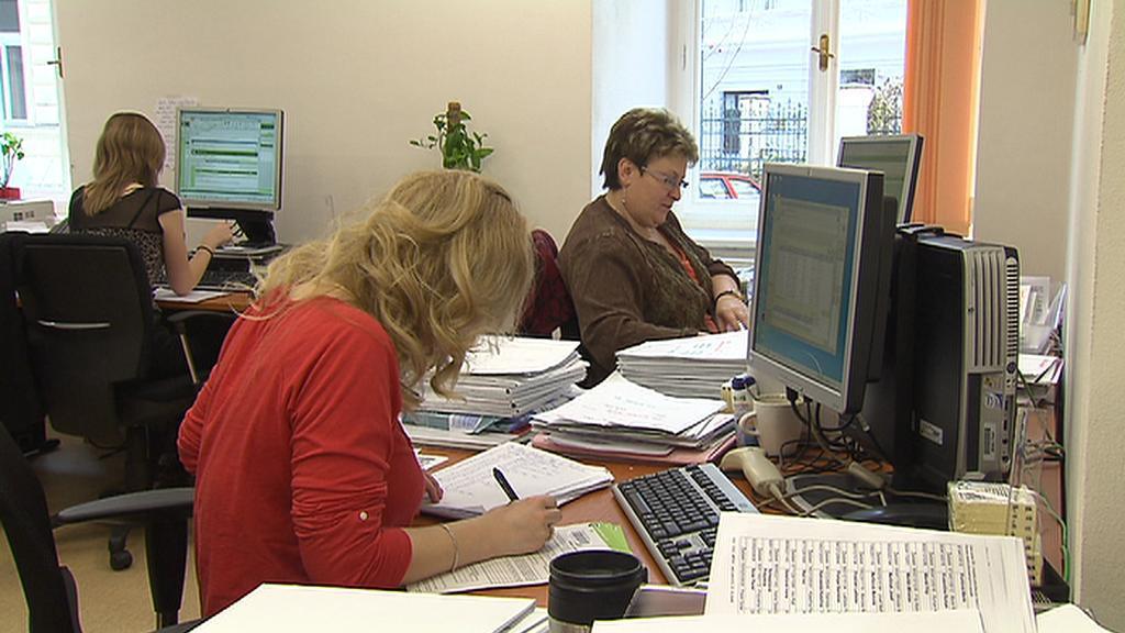 Zpracování údajů na úřadech práce