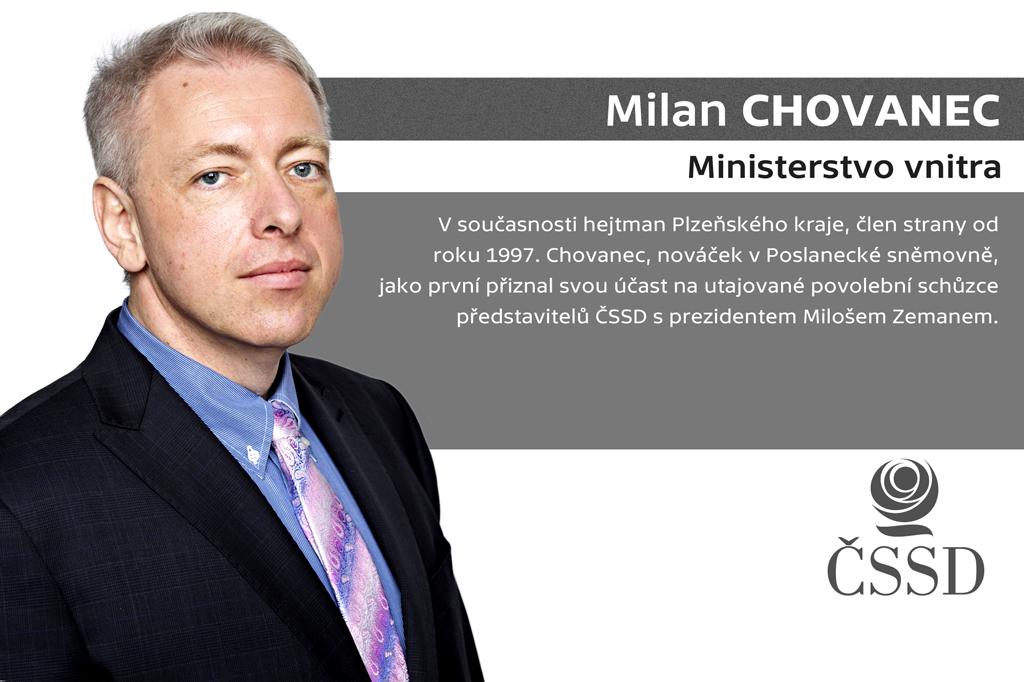 Milan Chovanec – ministerstvo vnitra