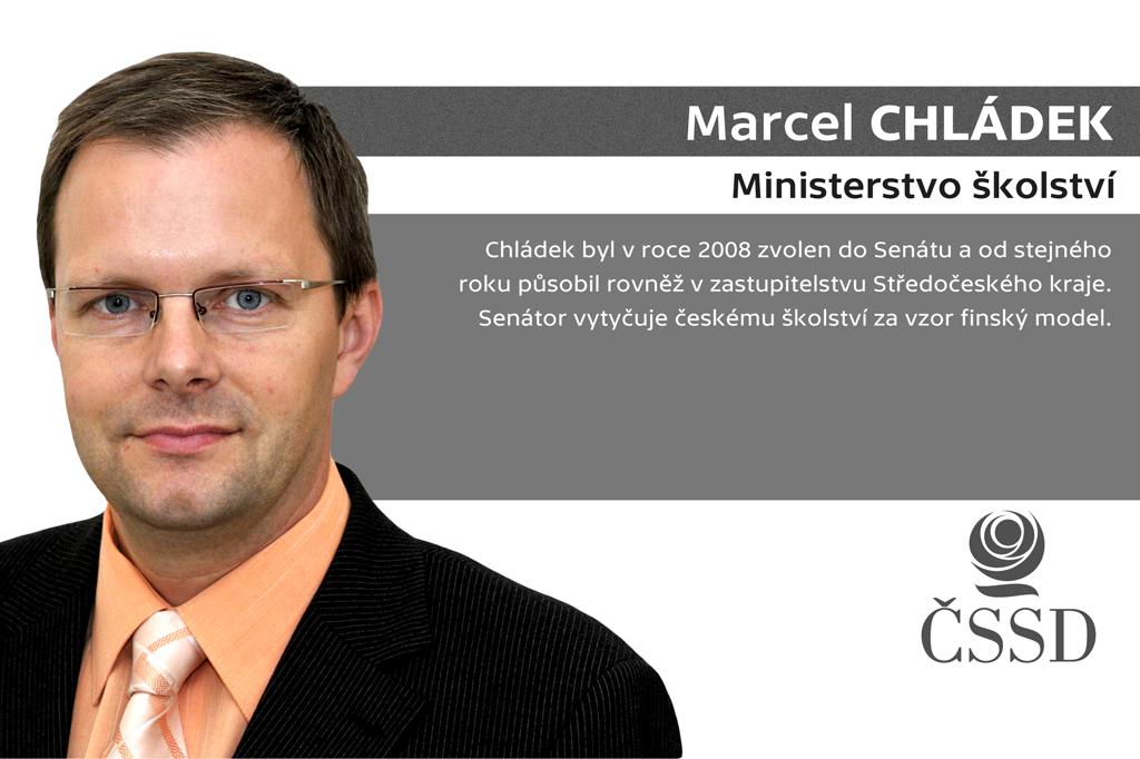 Marcel Chládek – ministerstvo školství