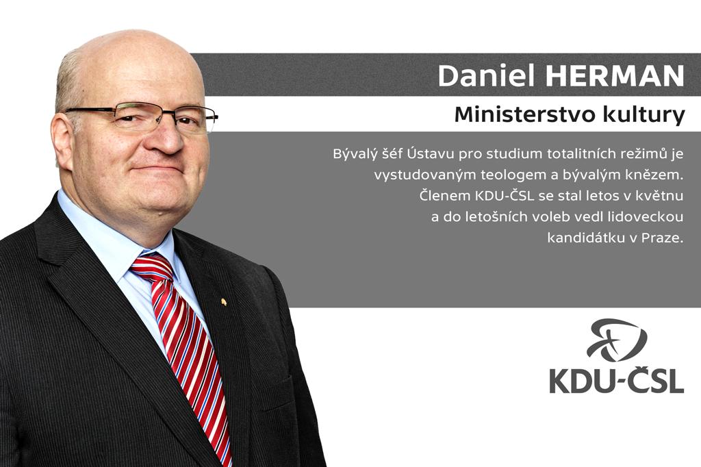 Daniel Herman –ministerstvo kultury