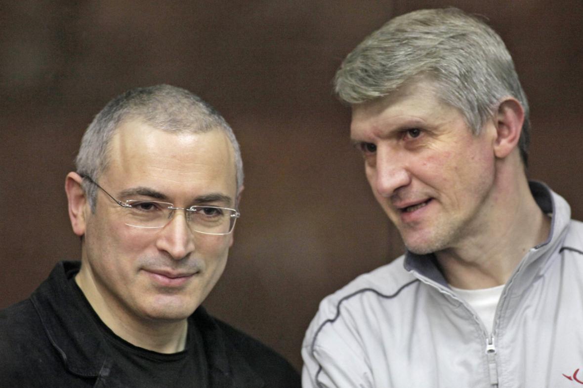 Michail Chodorkovskij a Platon Lebeděv
