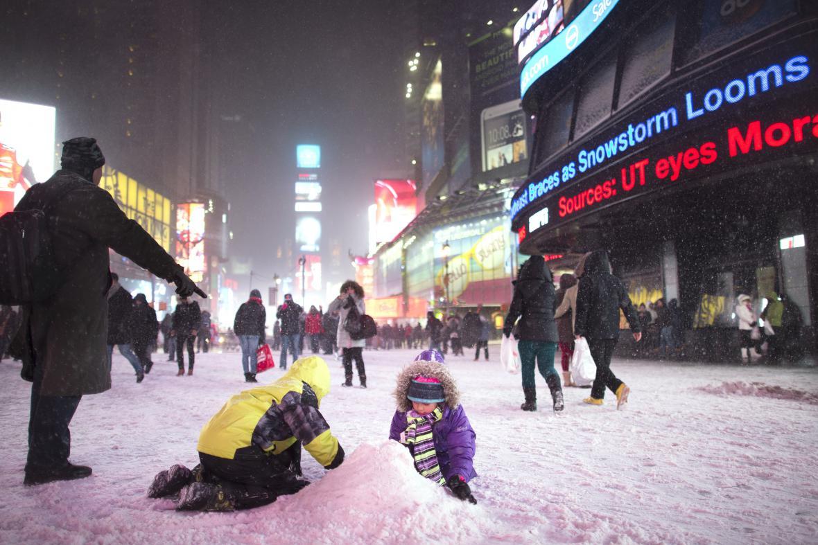 Kalamita v New Yorku