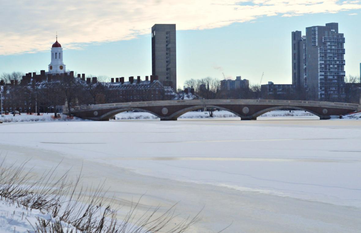 Zima v Bostonu