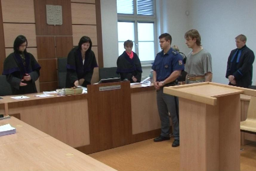 Michal Šály před jihlavským soudem