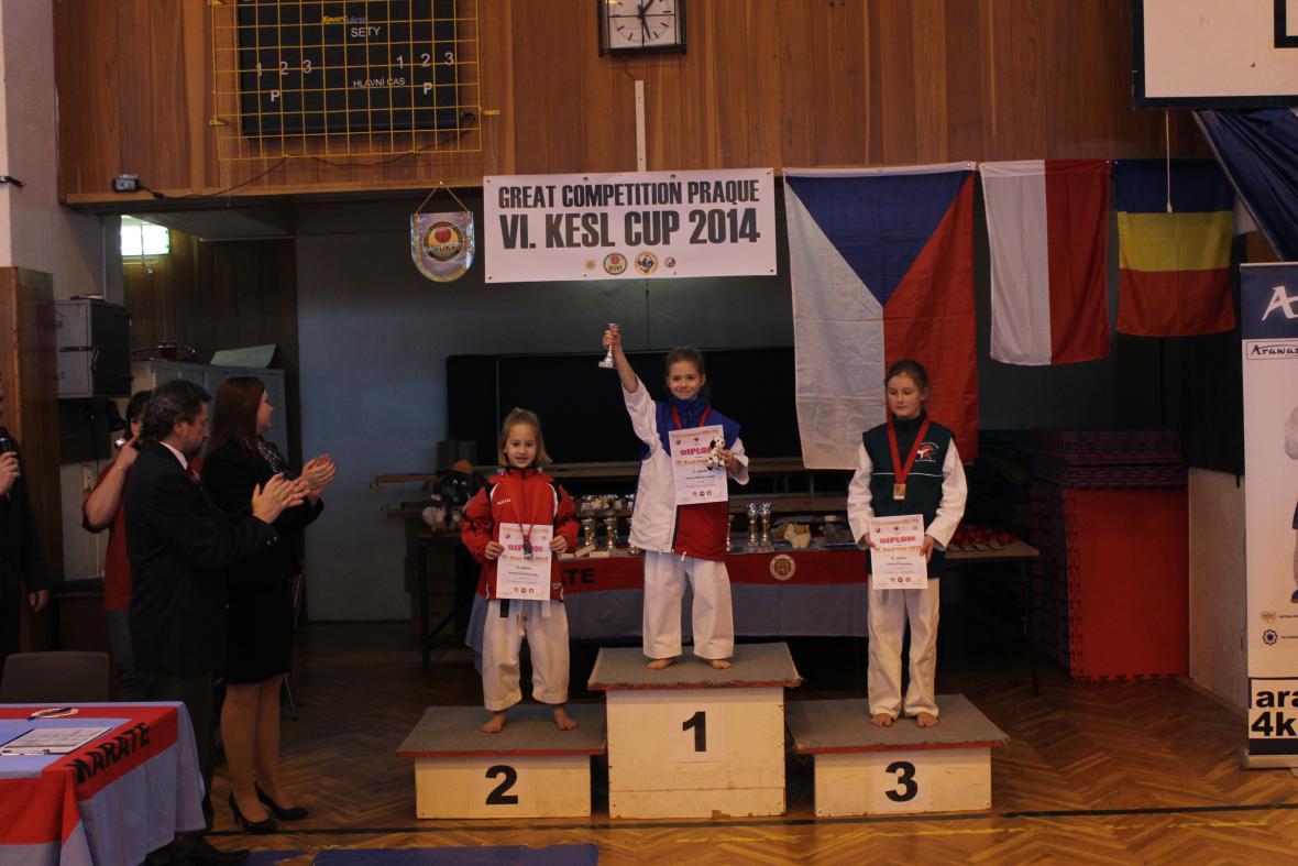 Amálie Ondroušková - 1. místo