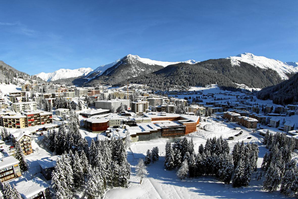 Švýcarský Davos