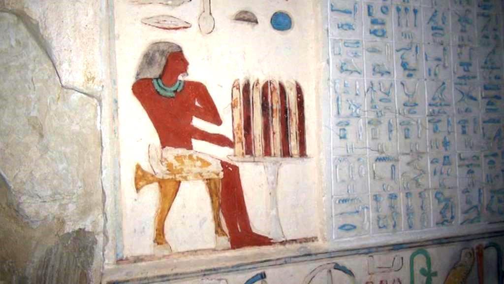 Vnitřek hrobky Šepseskafancha
