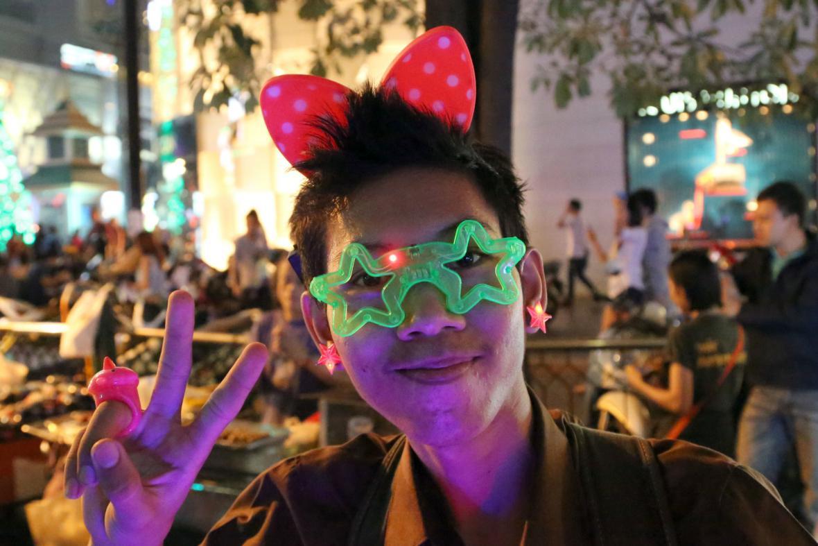 Novoroční oslavy v Thajsku