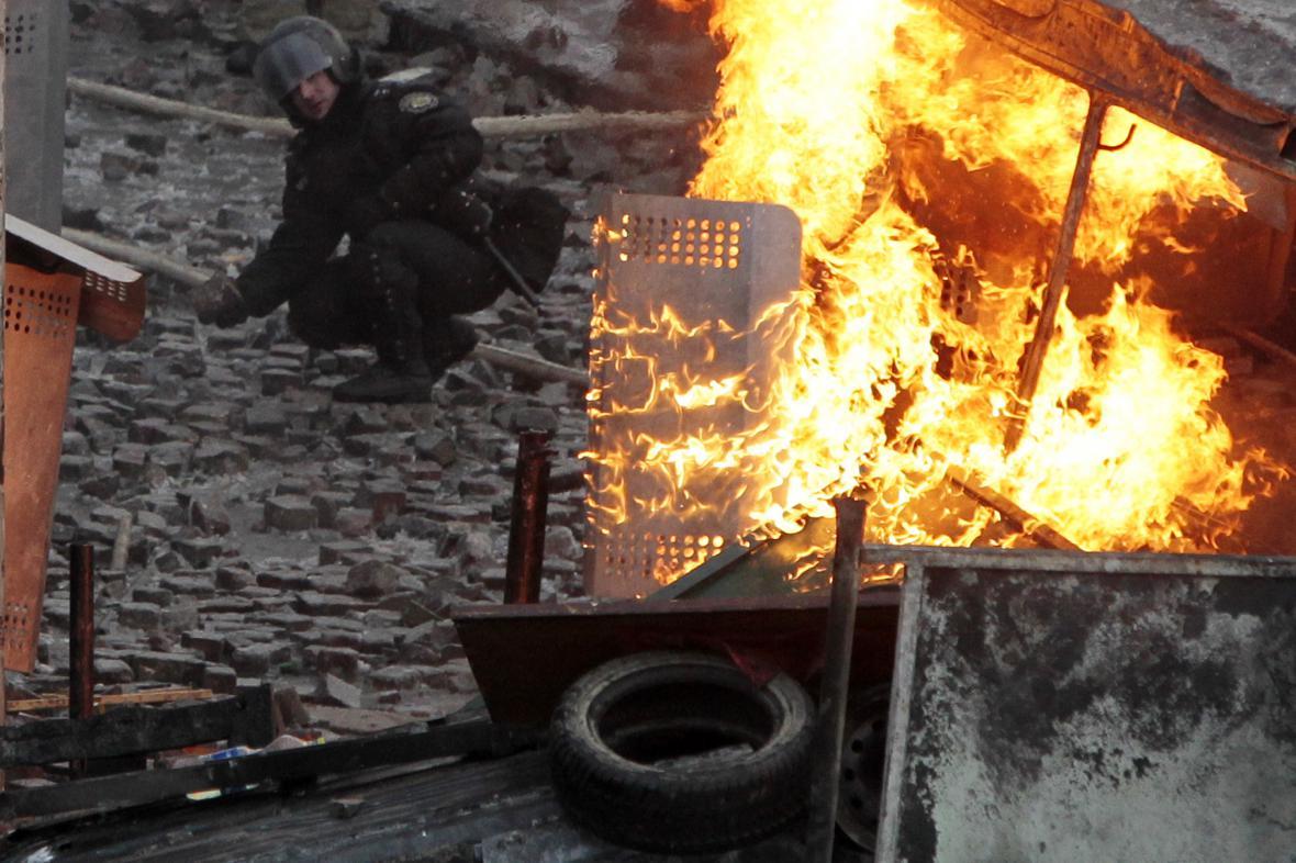 Protivládní protesty v Kyjevě