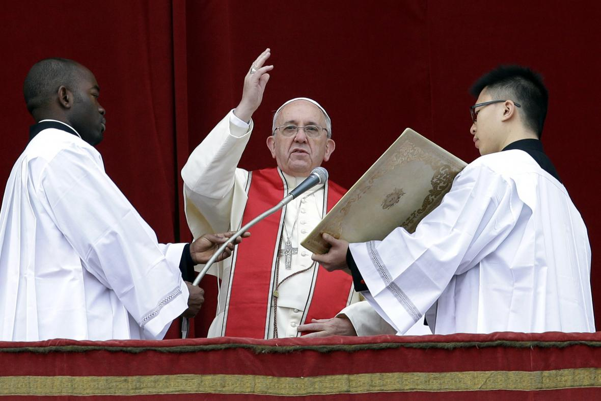 Papežovo poselství Urbi et Orbi