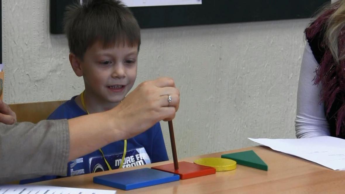Zápis do první třídy v Borohrádku