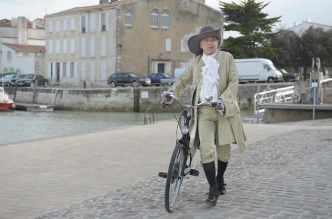 S Moliérem na kole