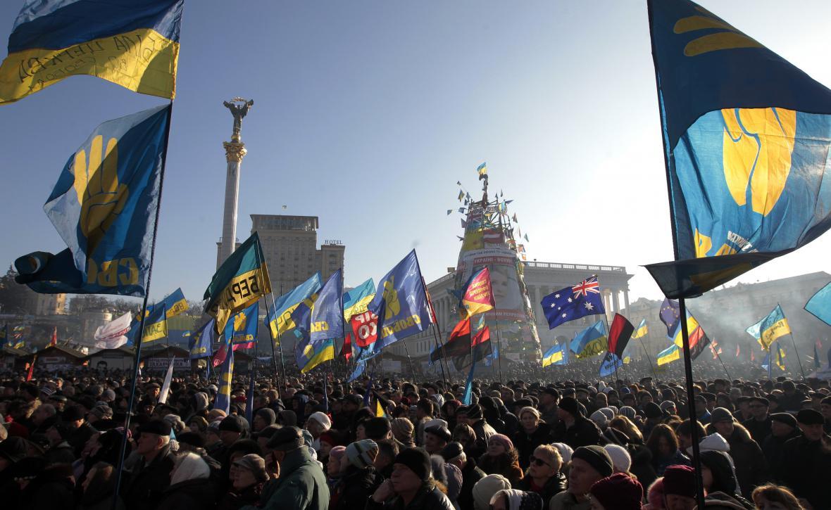 Ukrajinci znovu přišli do centra Kyjeva