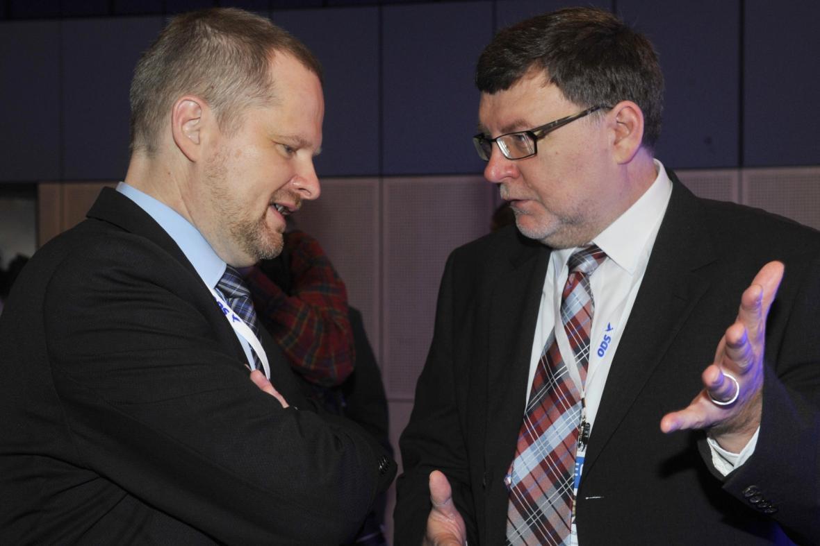 Petr Fiala a Zbyněk Stanjura