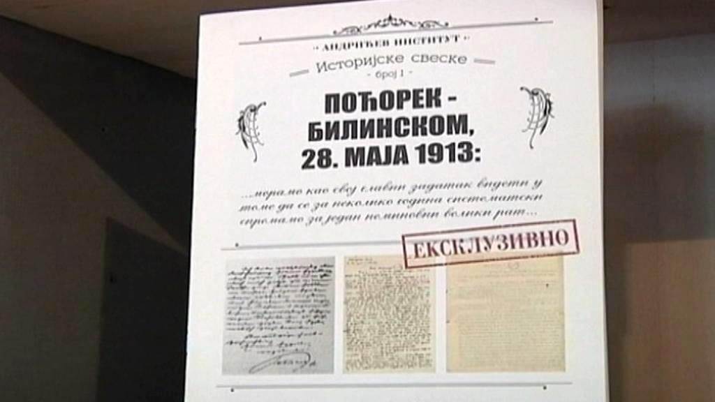 Utajený dopis o vídeňském plánu ohledně války se Srby