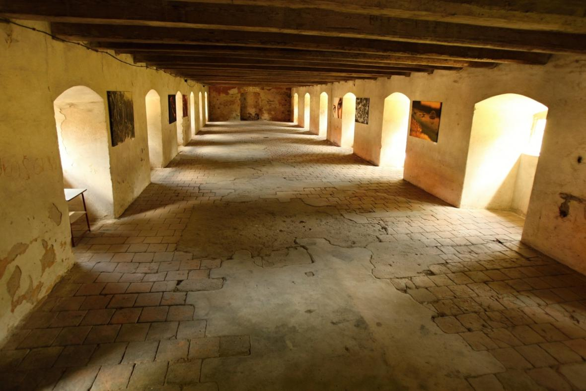 Barokní sýpka v klášteře Plasy