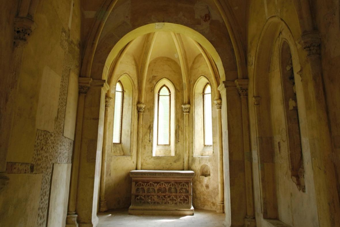 Královská kaple v klášteře Plasy