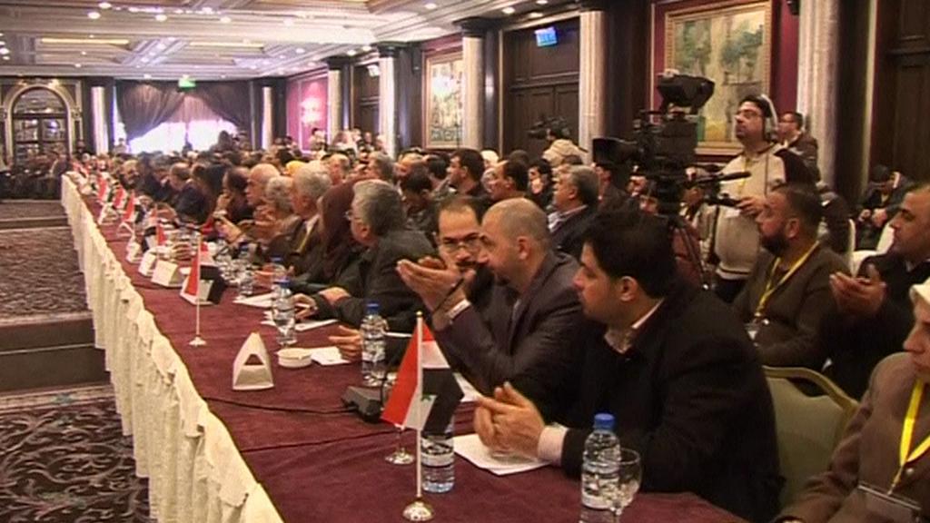Zástupci syrské opozice