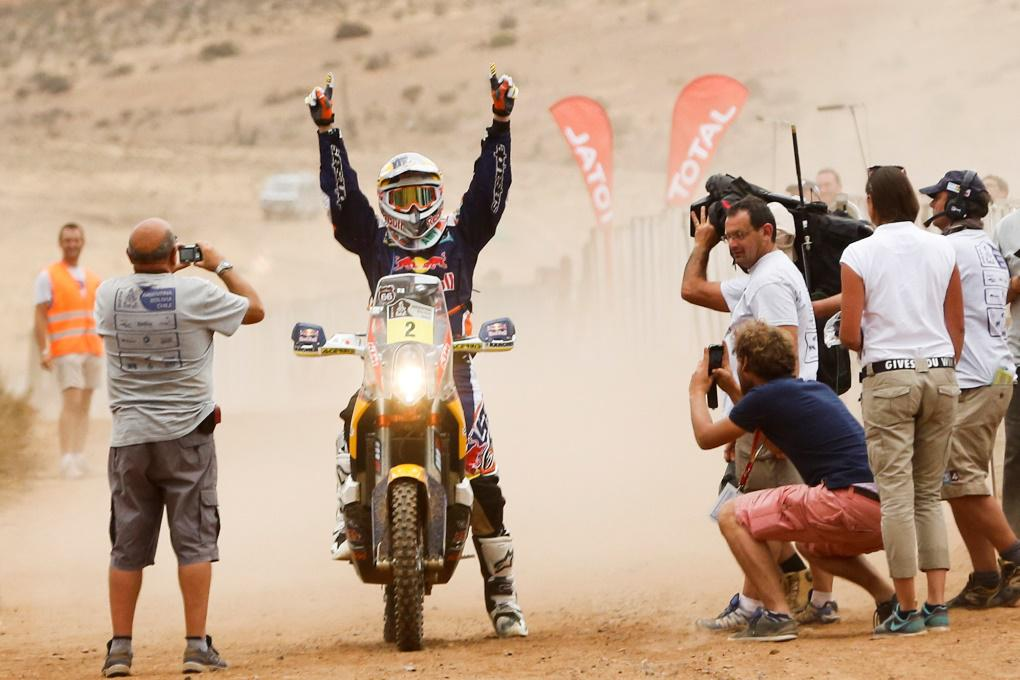 Marc Coma vyhrál Dakar na motocyklu počtvrté