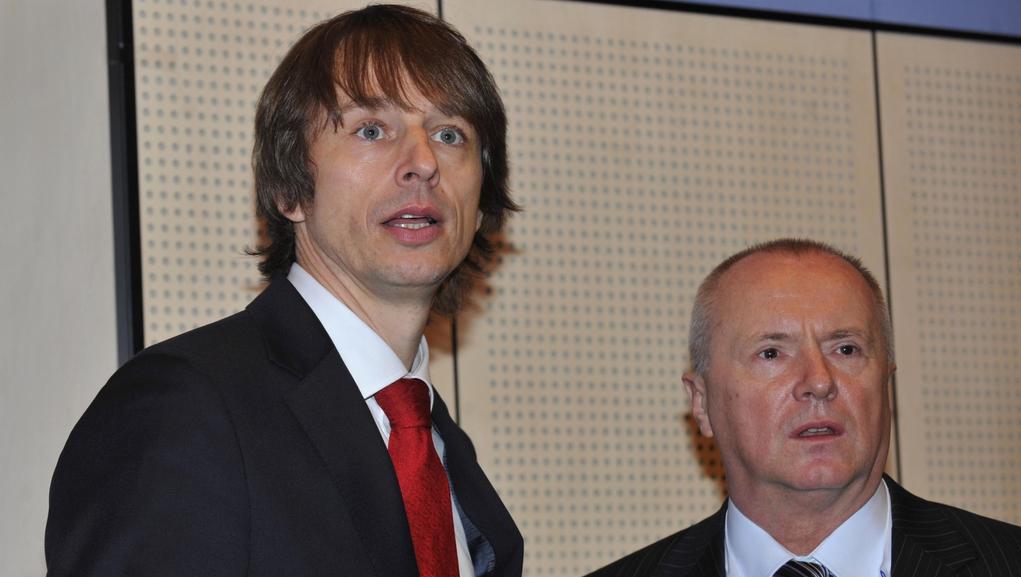 Europoslanci Edvard Kožušník a Miroslav Ouzký