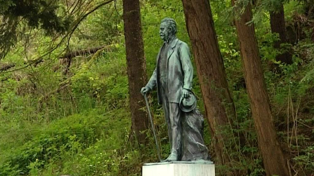 Socha Jindřicha Mattoniho