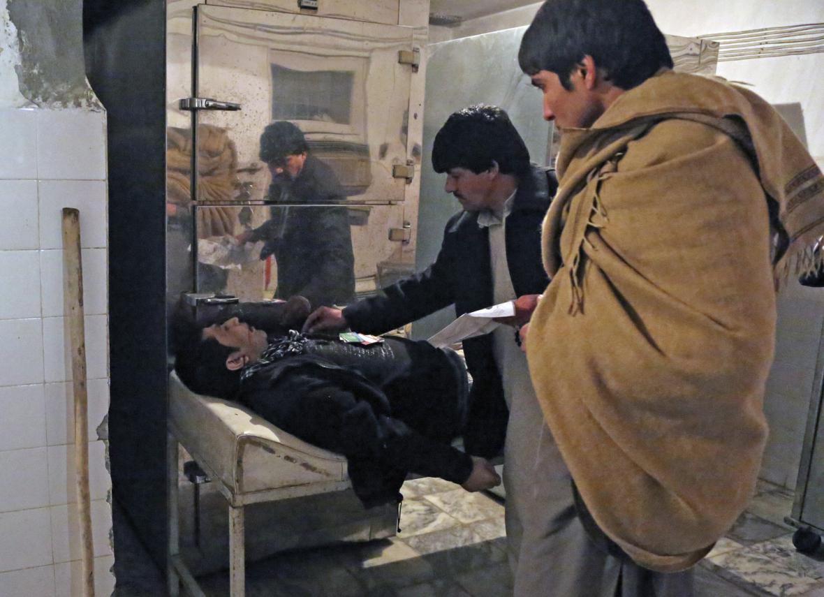 Terotistický útok v Kábulu