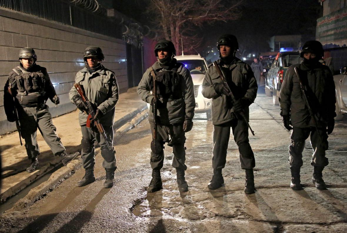 Afghánské bezpečnostní složky
