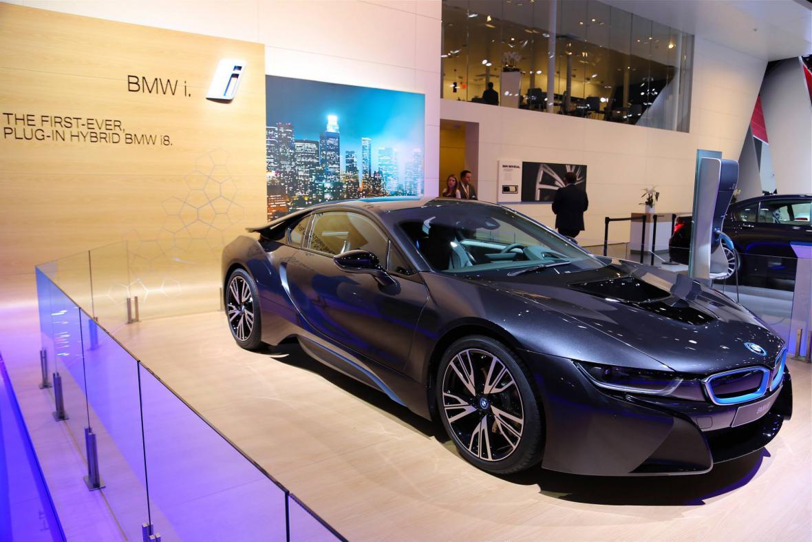 Koncept BMW i8