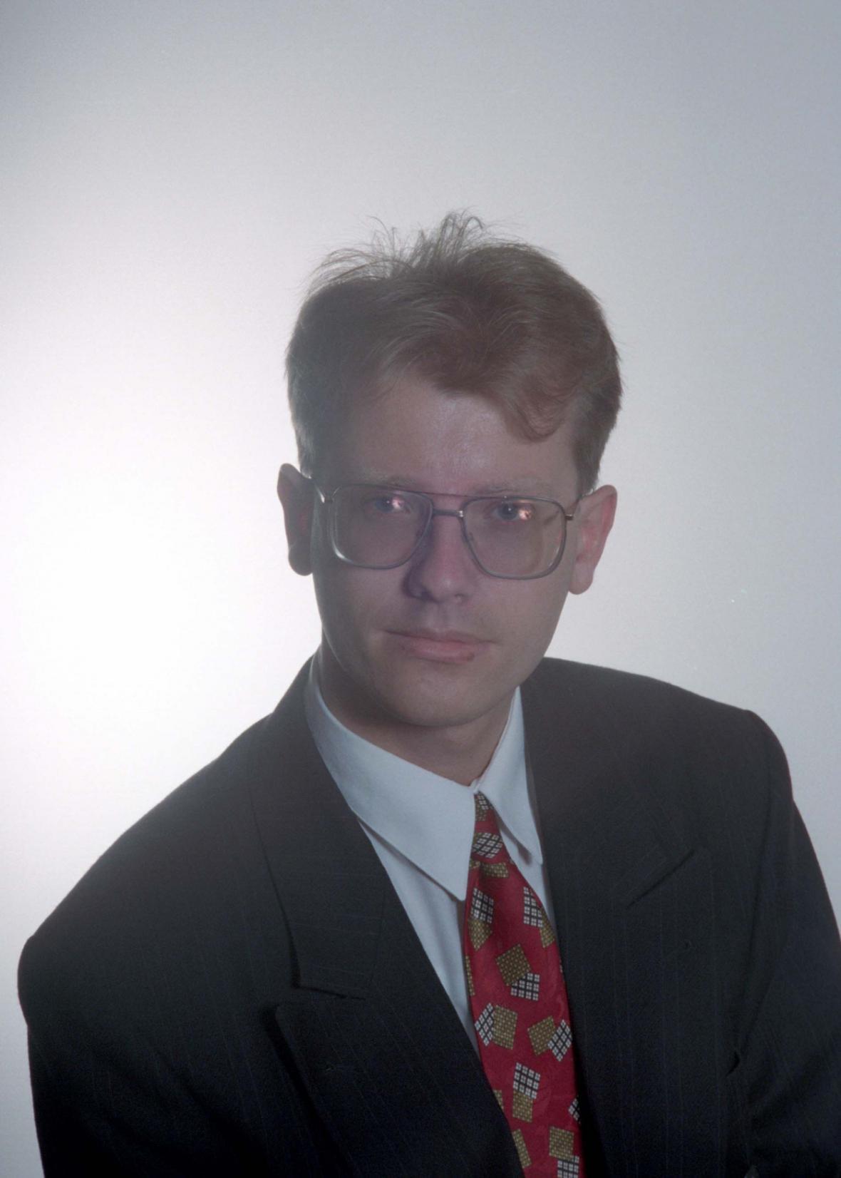 Bohuslav Sobotka v roce 1996