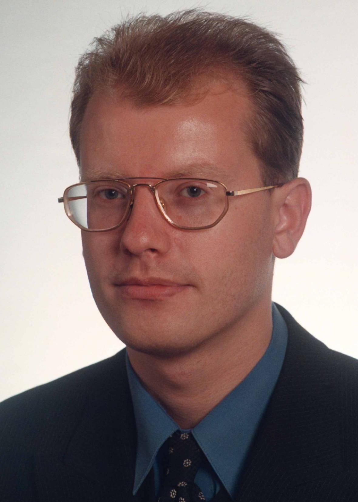 Bohuslav Sobotka v roce 1998