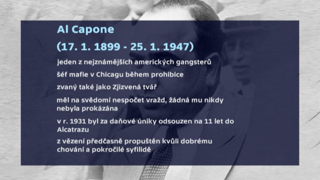 Al Capone - fakt o živoě