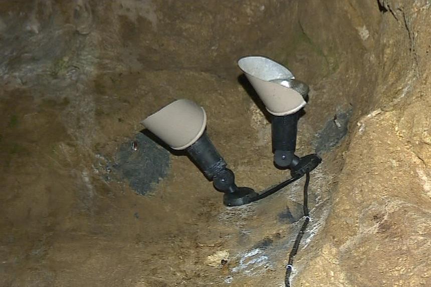 Jeskynní osvětlení