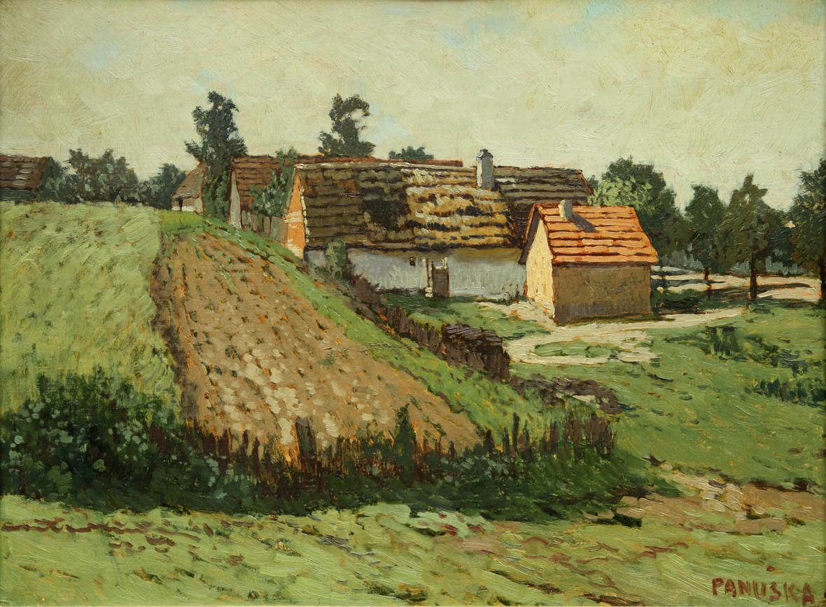 Jaroslav Panuška / Pole za vsí (1910)