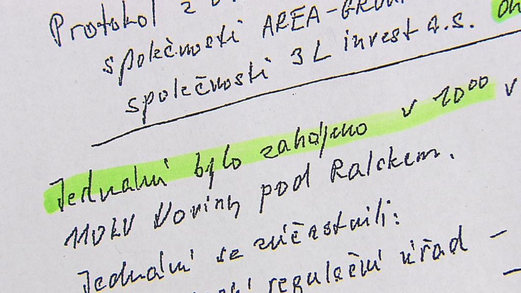 Protokol o kontrole elektrárny v Ralsku
