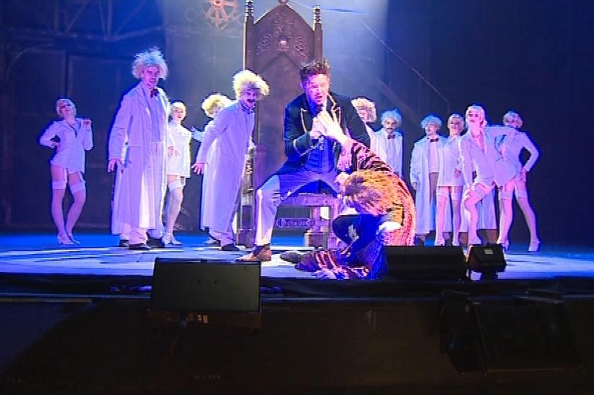 Muzikálové představení Mladý Frankenstein