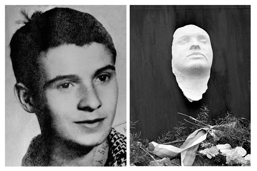 Jan Palach a jeho posmrtná maska