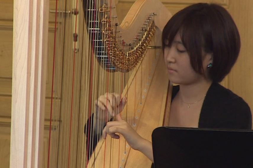 Harfistka