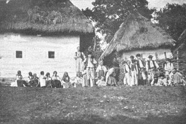 Historický snímek obce Žítková