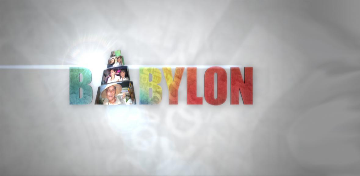 Babylon - nové logo pořadu